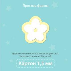 copy of Чипборд для тиснения. Бабочка, 2 части (слоя)