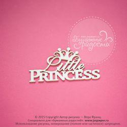Чипборд. Little princess с ажурной короной