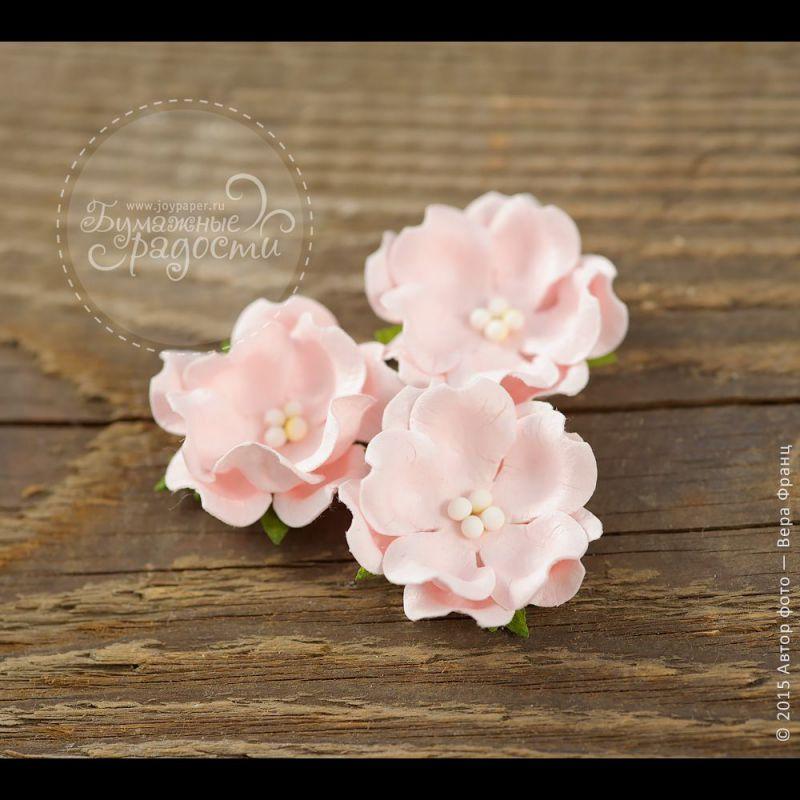 Волнистый цветочек нежно-розовый