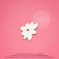 Цветочный уголок-держатель для фотографий
