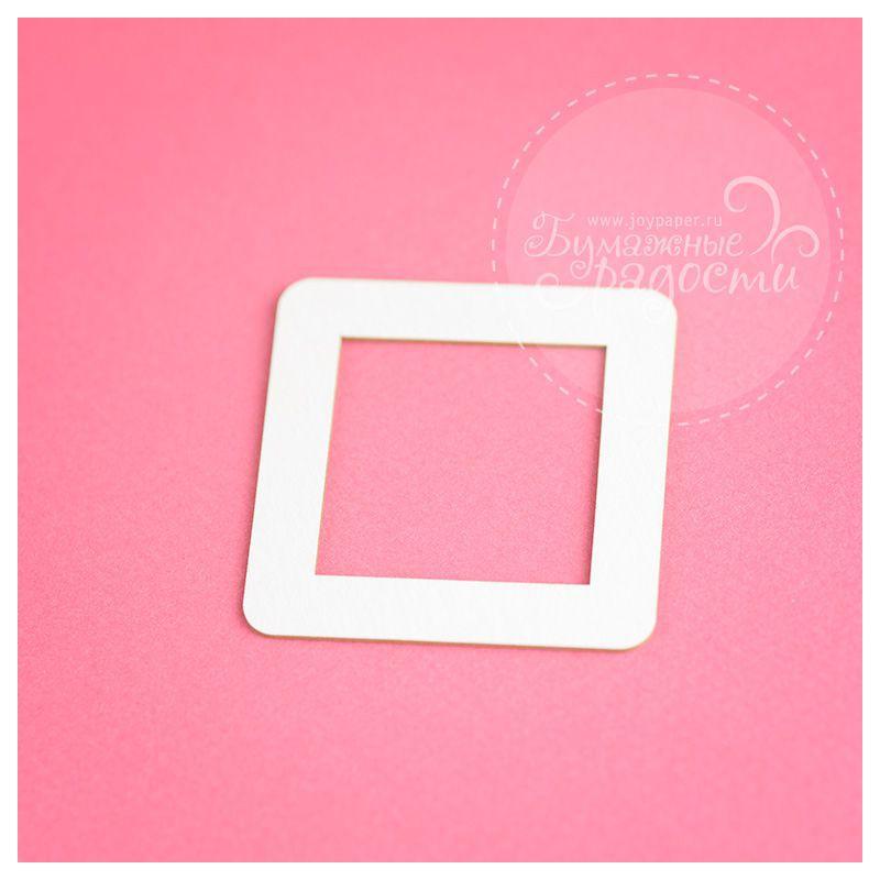 Рамочка квадратная со скругленными краями