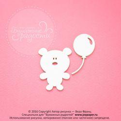 Медвежонок с воздушным шариком