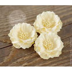 Роза-кексик пышная светло-желтая 4 шт