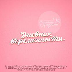 Чипборд. Дневник беременности