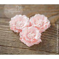 Роза-кексик пышная нежно-розовая 4 шт