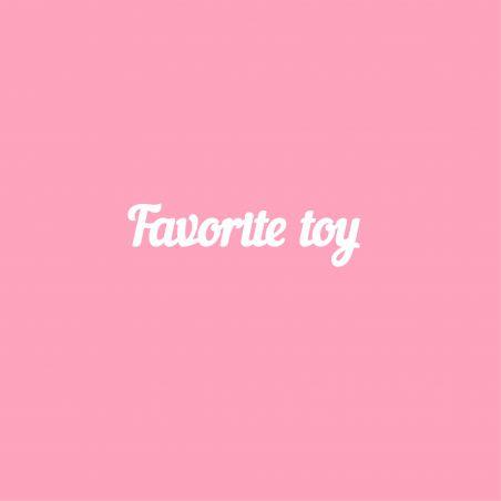 Favorite toy