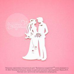Чипборд. Жених и невеста