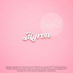 Чипборд. Myron