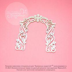 Чипборд. Свадебная арка