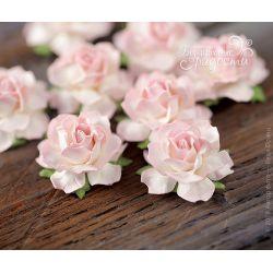 Мини-розочки розово-белые 4...