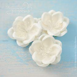 """Цветы """"Созвездие Ориона"""" белые 4 шт."""