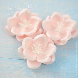 """Цветы """"Созвездие Ориона"""" нежно-розовые 4 шт."""