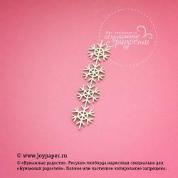 """Новогодний орнамент """"Снежинки"""""""