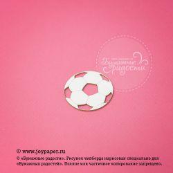Чипборд. Футбольный мяч