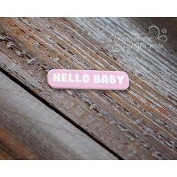 "Мини-табличка ""Hello Baby"""
