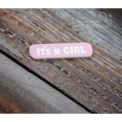 """Мини-табличка """"It's a GIRL"""""""