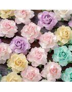 Цветы для скрапбукинга - Бумажные радости